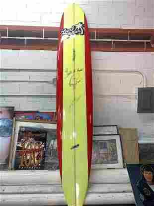 HOFF SIGNED LOCAL MOTION SURFBOARD