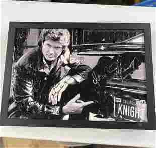 SIGNED PHOTO OF THE HOFF