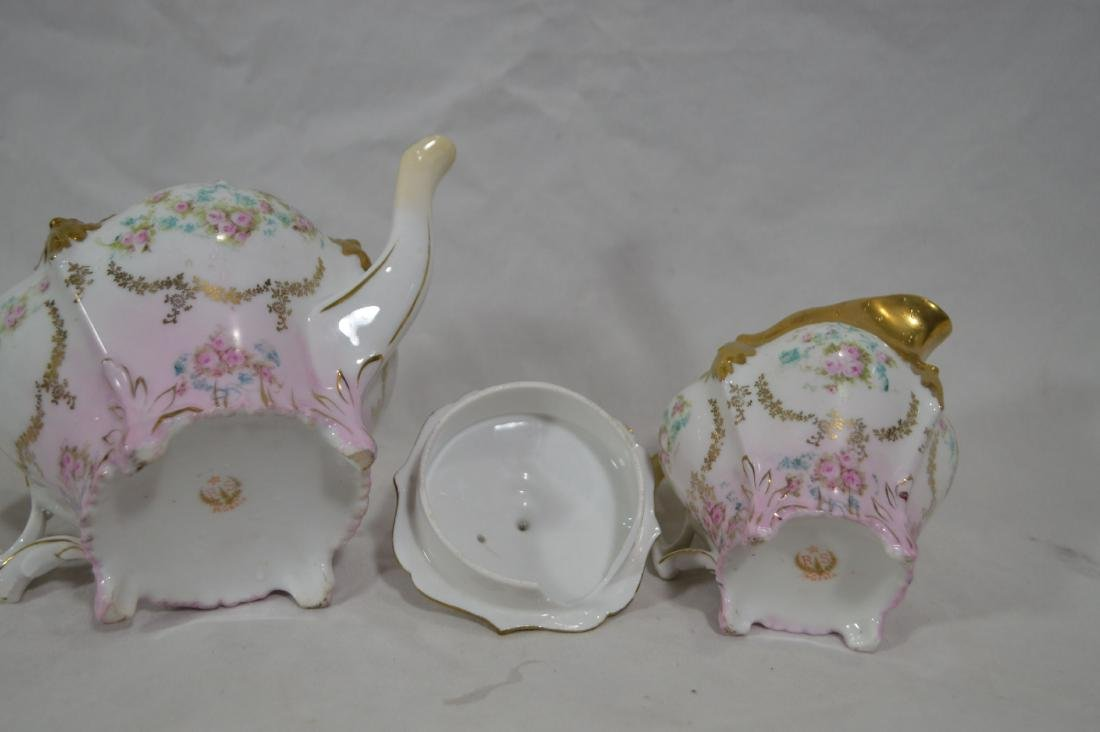 """RS PRUSSIA HP TEAPOT WITH CREAMER. 8 1/2""""L x 5""""T - 2"""