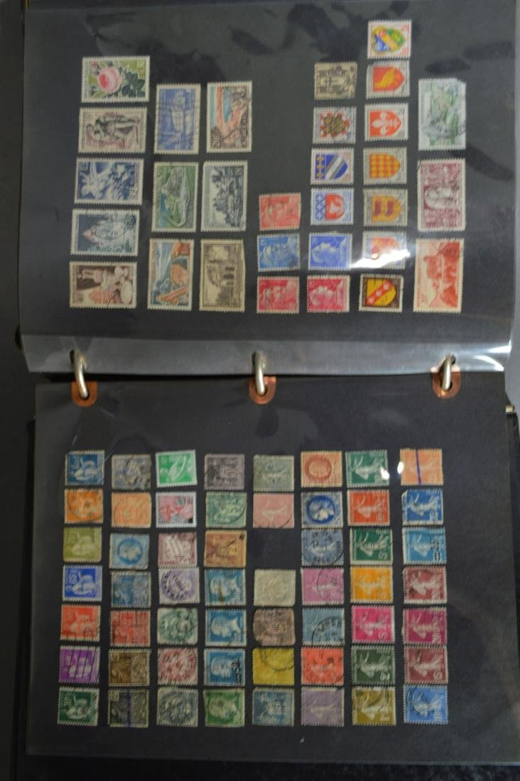 LARGE STAMP LOT INCLUDES MINT BLOCKS, SHEETS , US AND - 7