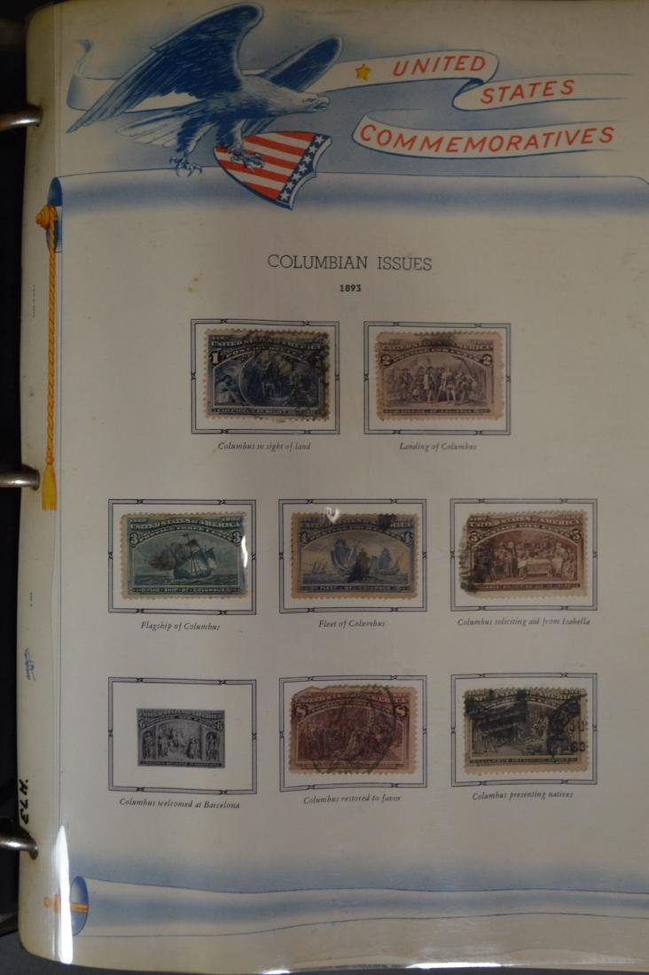 LARGE STAMP LOT INCLUDES MINT BLOCKS, SHEETS , US AND - 9