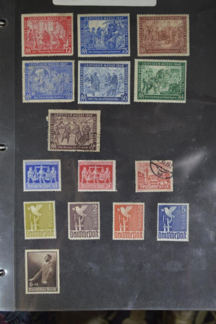 LARGE STAMP LOT INCLUDES MINT BLOCKS, SHEETS , US AND - 8