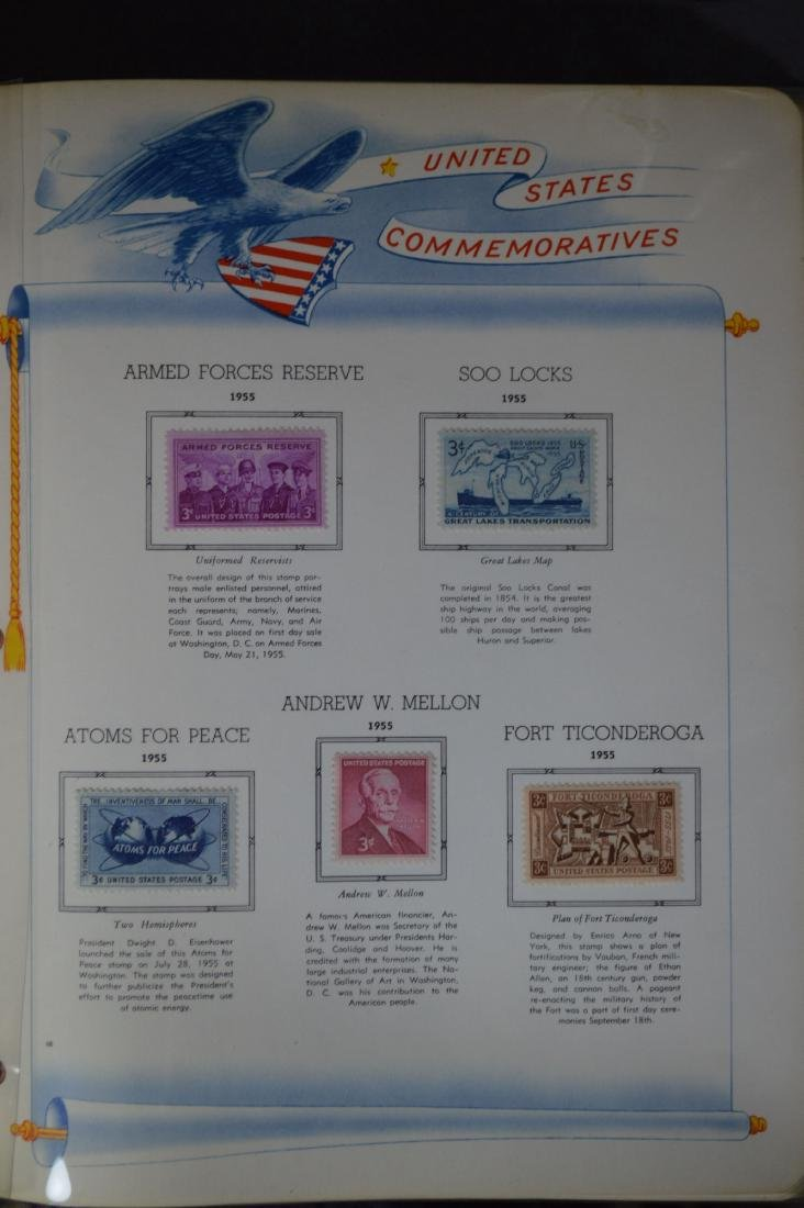 LARGE STAMP LOT INCLUDES MINT BLOCKS, SHEETS , US AND - 5