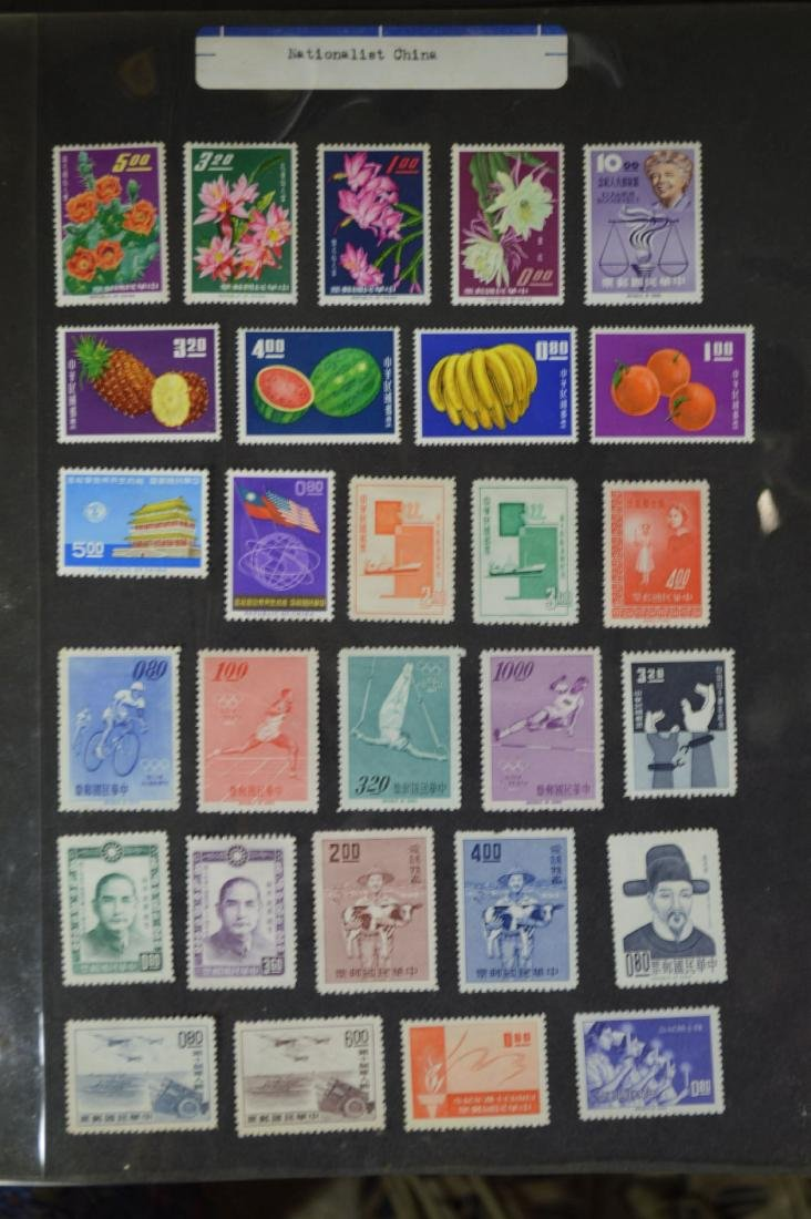 LARGE STAMP LOT INCLUDES MINT BLOCKS, SHEETS , US AND - 6