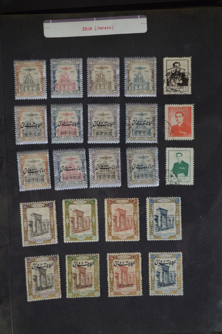 LARGE STAMP LOT INCLUDES MINT BLOCKS, SHEETS , US AND - 2
