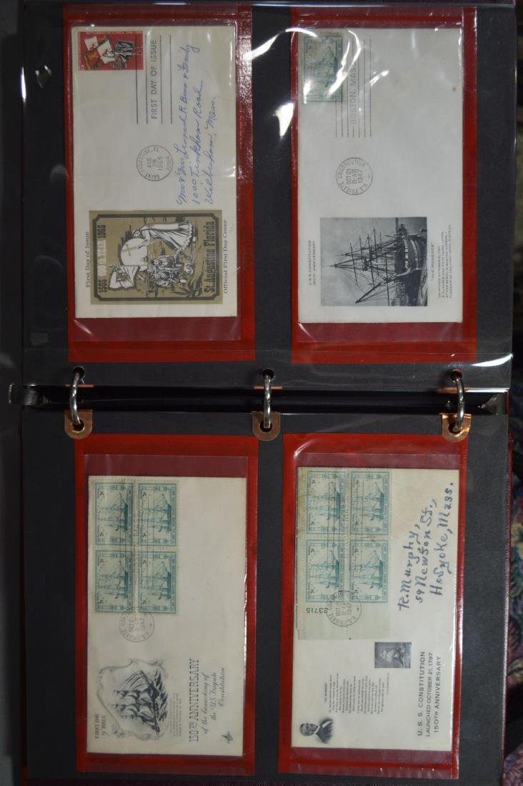 LARGE STAMP LOT INCLUDES MINT BLOCKS, SHEETS , US AND - 3