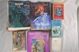 COLLECTION OF DUNGEONS AND DRAGONS BOOKS AND EPHEMERA
