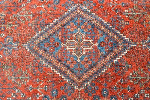 "19TH CENTURY ROOM SIZED PERSIAN RUG 163""X129"" - 3"