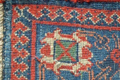 "19TH CENTURY ROOM SIZED PERSIAN RUG 163""X129"" - 4"