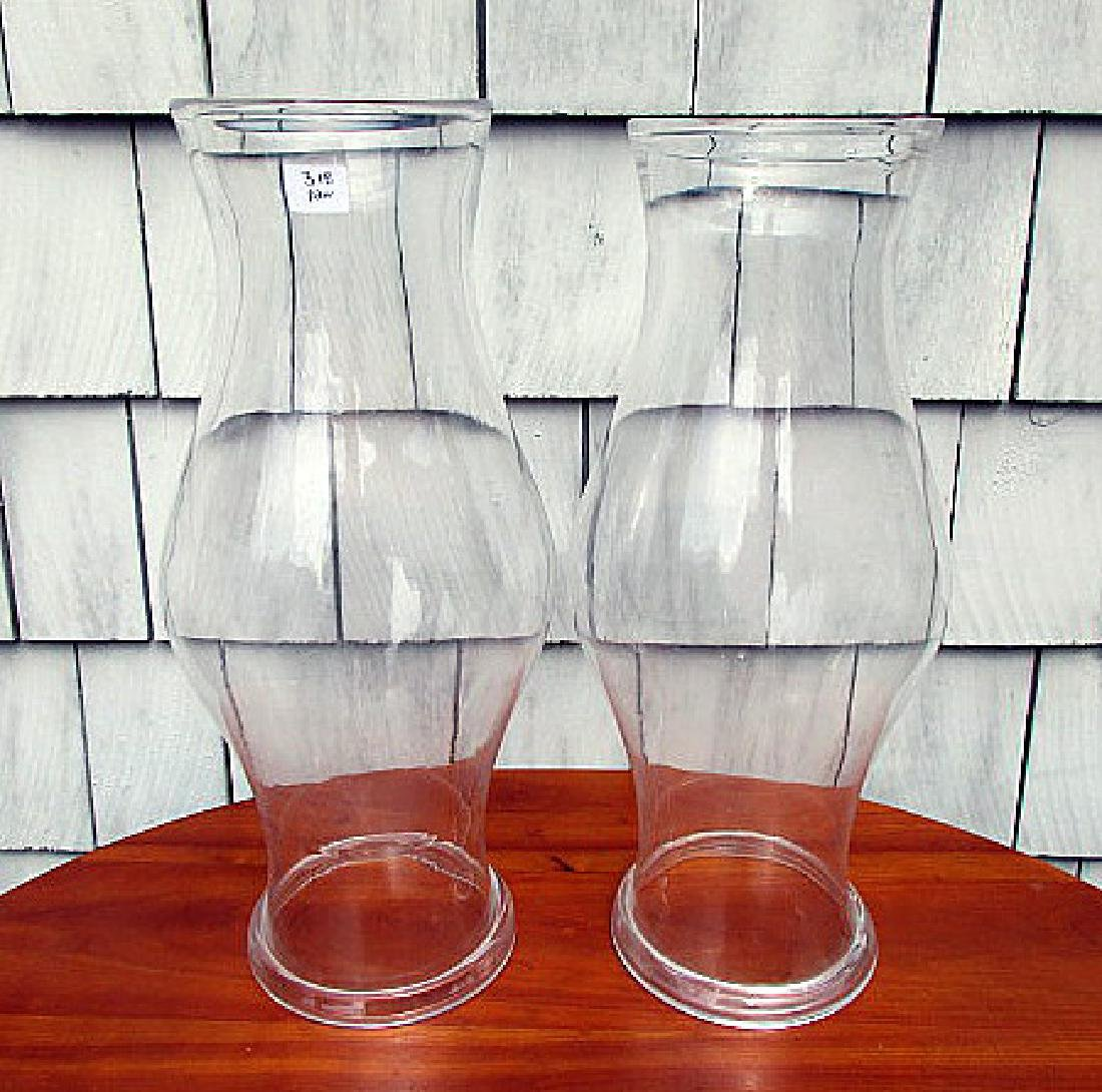 PR LARGE FOLDED RIM GLASS HURRICANE SHADES