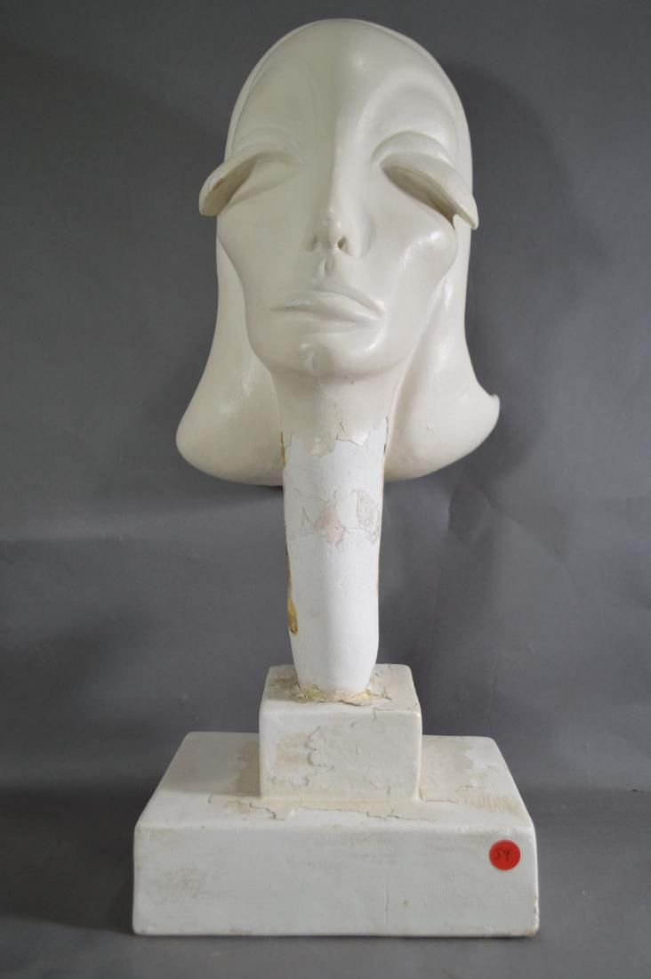"GRETA GARBO BUST BY HENNY BACKUS.24"".  THE ESTATE OF"