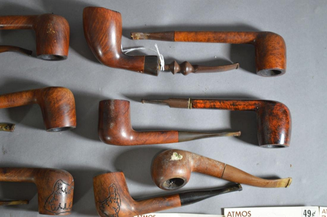 "ANTIQUE PIPE COLLECTION. 6"" AND SMALLER - 3"