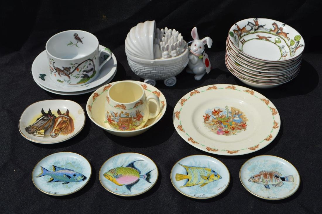 20 PIECES OF PORCELAIN, KAISER , CHASE, ROYAL DOULTON