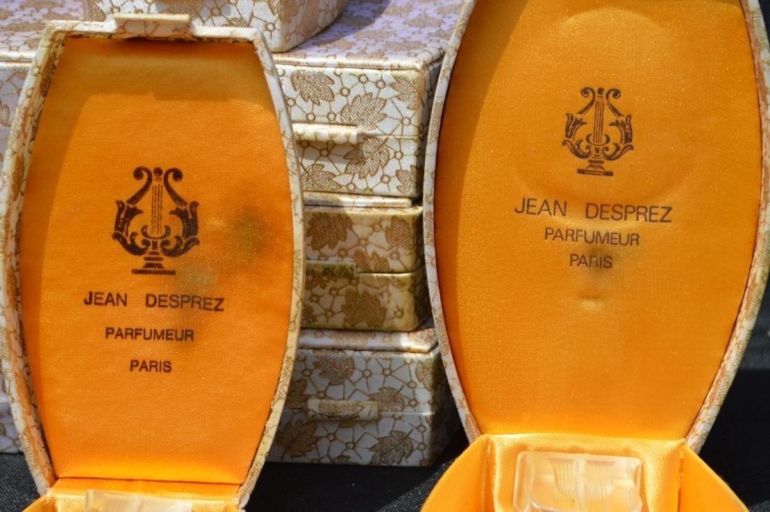 LARGE LOT OF JEAN DESPREZ  CASED PERFUME BOTTLES, - 3