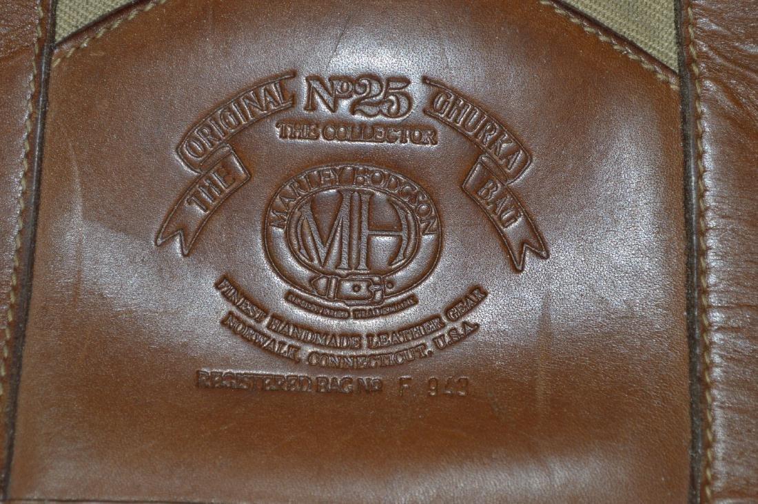 """ORIGINAL NUMBER 25 GHURKA BAG BY MARLEY HODGSON. 12"""" x - 2"""