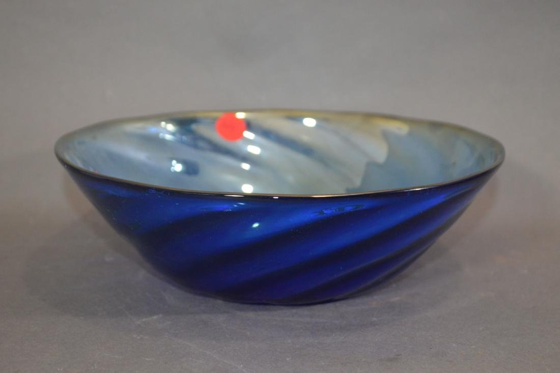 MILLIFIORE TURTLE, ART GLASS BOWL AND OTHER ART GLASS - 6