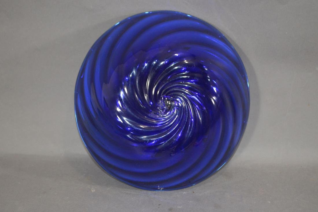 MILLIFIORE TURTLE, ART GLASS BOWL AND OTHER ART GLASS - 8