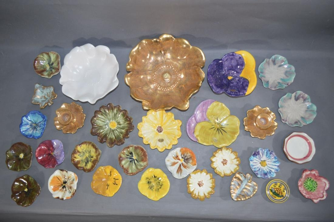 """FLORA FORM STANGL DISHES. 11""""D AND SMALLER - 2"""