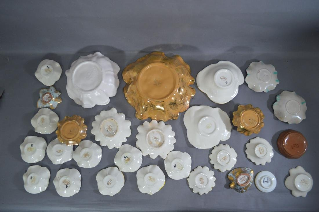 """FLORA FORM STANGL DISHES. 11""""D AND SMALLER - 5"""