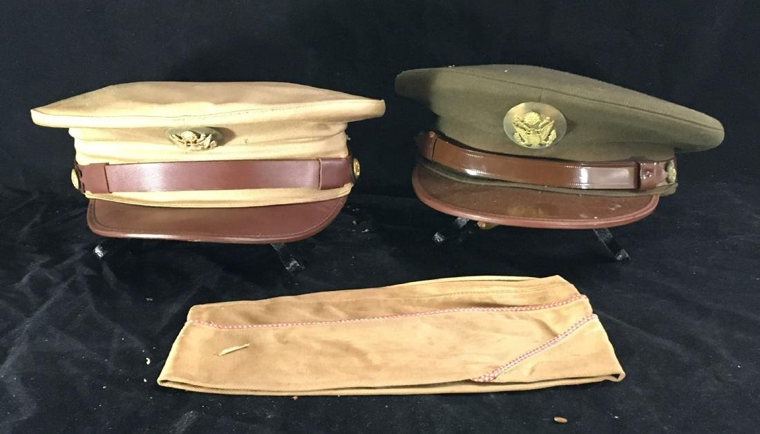 WW2 MILITARY HATS AND UNIFORMS