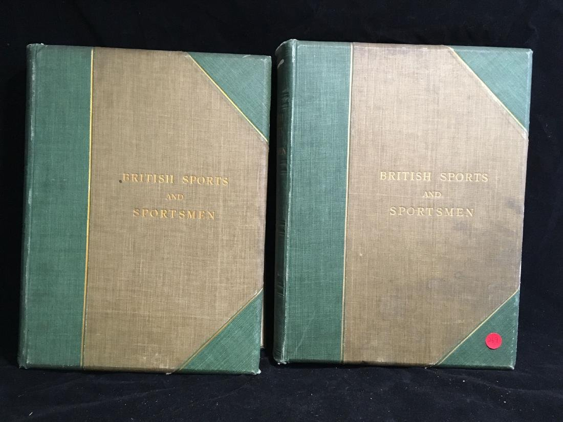 BRITISH SPORTS AND SPORTSMAN 2 VOLUMES