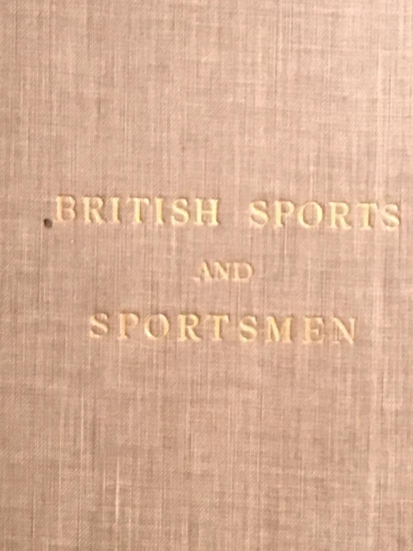 BRITISH SPORTS AND SPORTSMAN 2 VOLUMES - 2