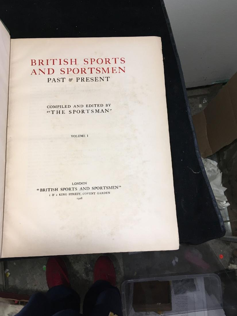 BRITISH SPORTS AND SPORTSMAN 2 VOLUMES - 3