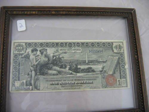 95102: 1896 Near mint $1 silver certificate
