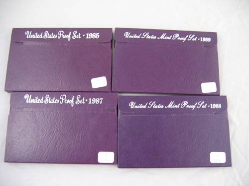 95104: 4 U.S. mint proof sets