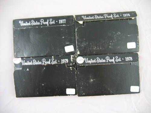 95106: 4 U.S. mint proof sets