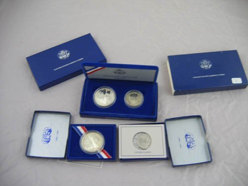 95112: 1986 U.S. Liberty coin proofs