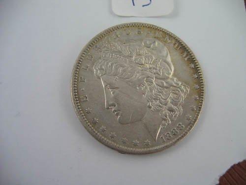 95115: 1888 morgan dollar