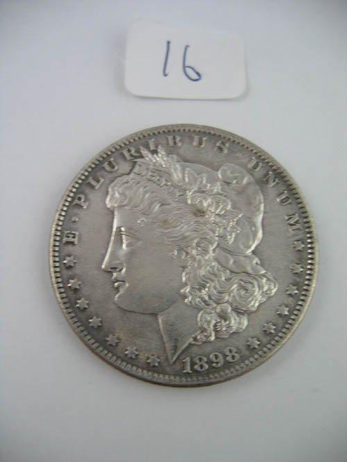 95116: 1898 morgan dollar