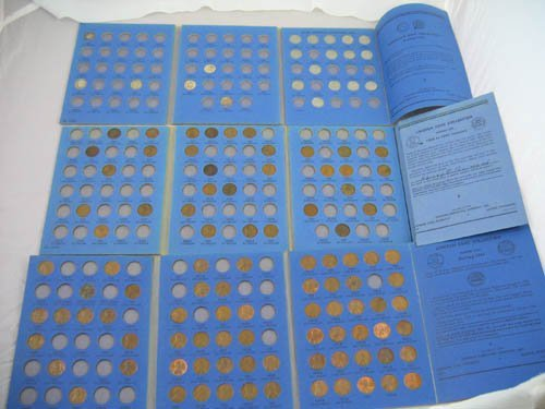 95121: 3 partially filled coin books Roosevelt dimes
