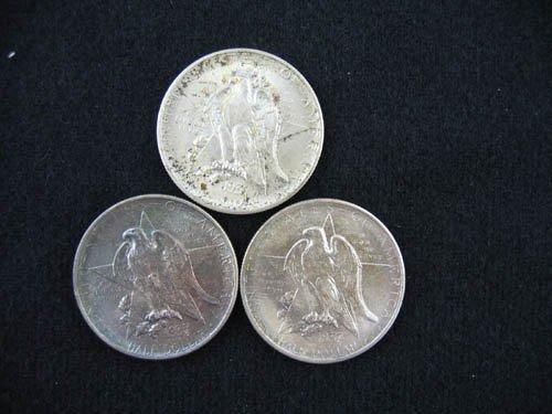 919109: 3 1937 TEXAS COMMEMORATIVE 1/2 DOLLARS IN ORIGI