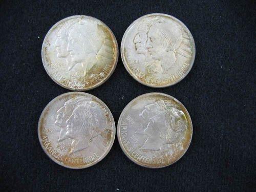 919115: 4 ARKANSAS CENTENNIAL 1936 COMMEMORATIVE 1/2 DO
