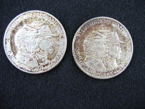 919121: 2 1936 GETTYSBURG COMMEMORATIVE 1/2 DOLLARS IN