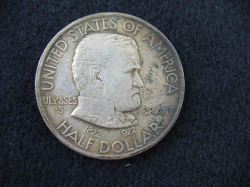 919124: 1922 ULYSSEYS S GRANT COMMEMORATIVE 1/2 DOLLAR