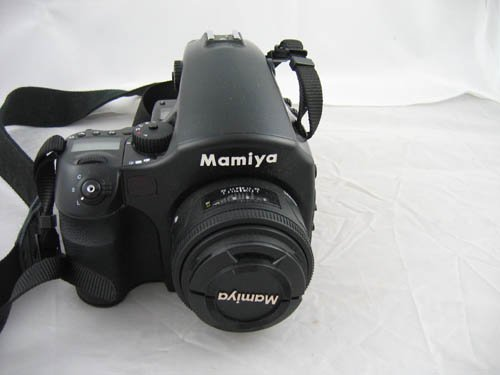 929103A: MAMIYA 645AFd MEDIUM FORMAT CAMERA WITH 80MM L