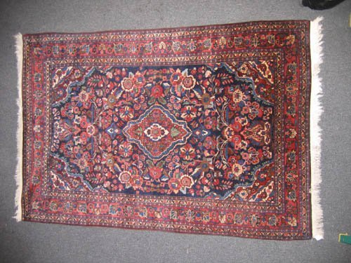 "929110: ANTIQUE ORIENTAL CARPET (77""x52"")"