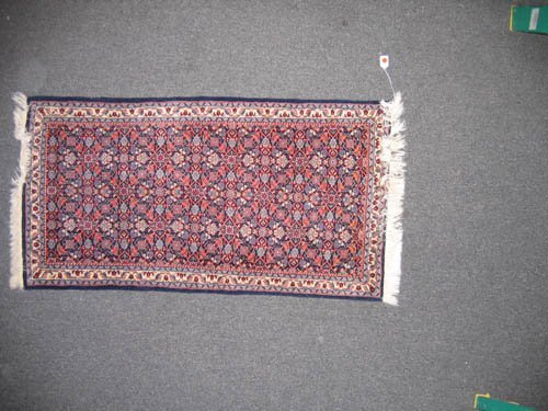 "929111: SILK PERSIAN HALL ORIENTAL RUNNER (50""x26"")"