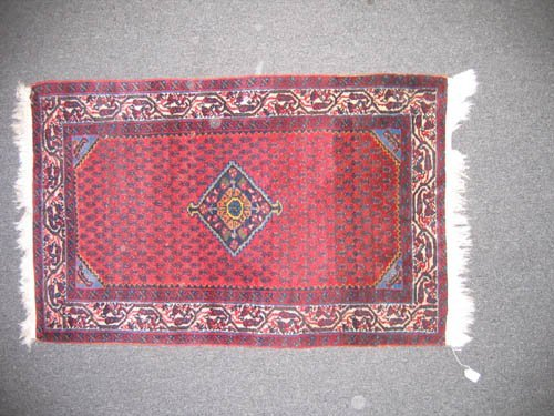 "929113: OLDER TRIBAL MAT (50""x31"")"
