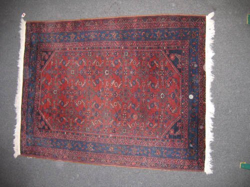 "929116: OLDER ORIENTAL CARPET (6'2""x4'9"")"
