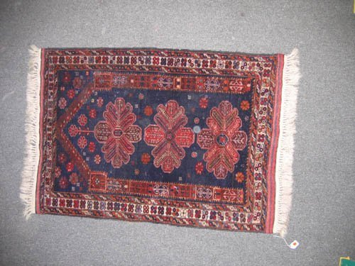 "929119: OLDER PERSIAN PRAYER MAT (4'4""x3')"