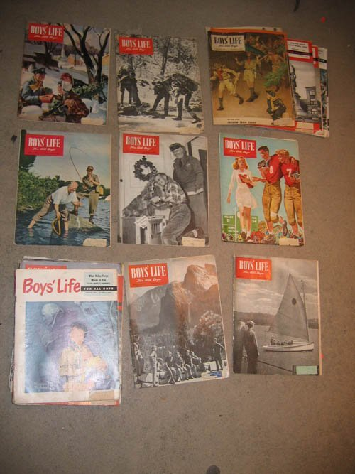 "117101: SCOUTING ""BOYS LIFE"" (33) 1946-1952"