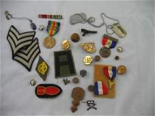 117327: WWII MILITARY MEDALS AND PATCHES ORDINANCE
