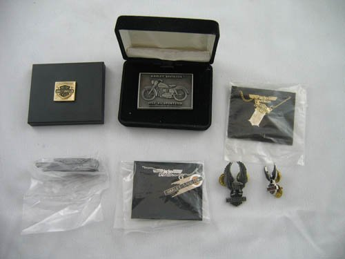 1216110: HARLEY DAVIDSON JEWELRY  PINS MIRRORS
