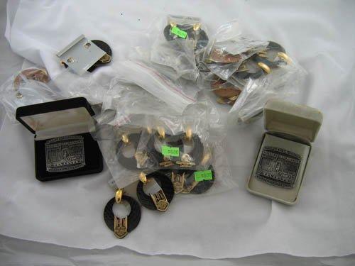 1216115: HARLEY DAVIDSON PINS & METAL EMBLEMS