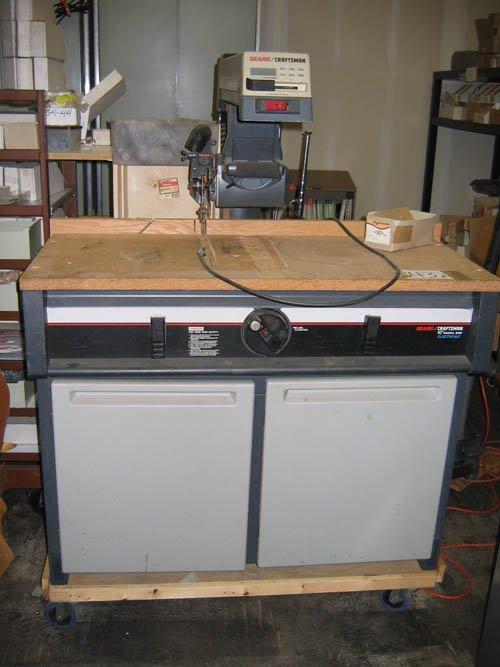 1216432: CRAFTSMAN ELECTRONIC RADIAL ARM SAW