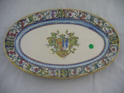227123: 19TH CENTURY FRENCH FAIENCE PLATTER